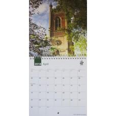 Bishop's Stortford  2018 Square Calendar