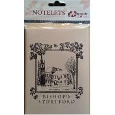 Bishop's Stortford b&w notelets