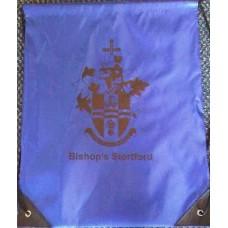 Drawstring bag - blue