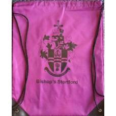 Drawstring bag - purple
