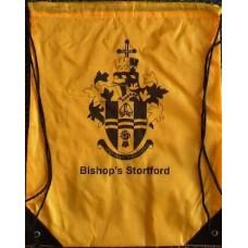 Drawstring bag - yellow