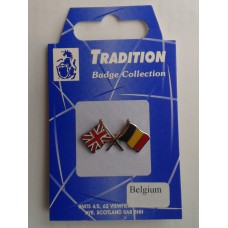 Belgium / Union Jack Friendship Badge
