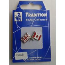 Canada / Union Jack Friendship Badge