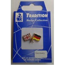 Germany / Union Jack Friendship Badge