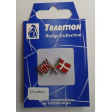 Denmark / Union Jack Friendship Badge