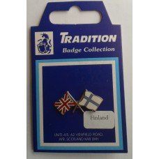 Finland / Union Jack Friendship Badge