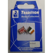 Ireland / Union Jack Friendship Badge