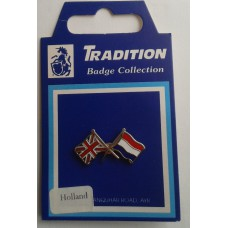 Netherlands / Union Jack Friendship Badge