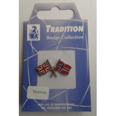 Norway / Union Jack Friendship Badge