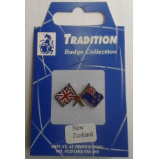 New Zealand / Union Jack Friendship Badge