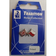 Poland / Union Jack Friendship Badge