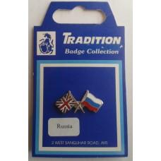 Russia / Union Jack Friendship Badge