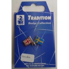 Sweden / Union Jack Friendship Badge