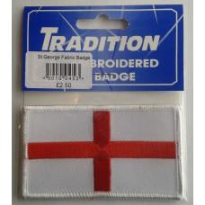 St George Fabric Badge