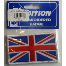 Union Jack Fabric Badge