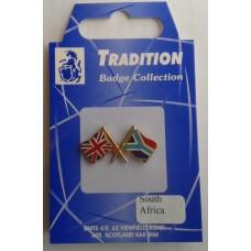 South Africa / Union Jack Friendship Badge
