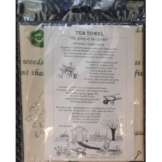 """Textures Tea Towel - """"The Glory of the Garden"""""""