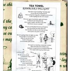 Textures Tea Towel - Rambler's Delight