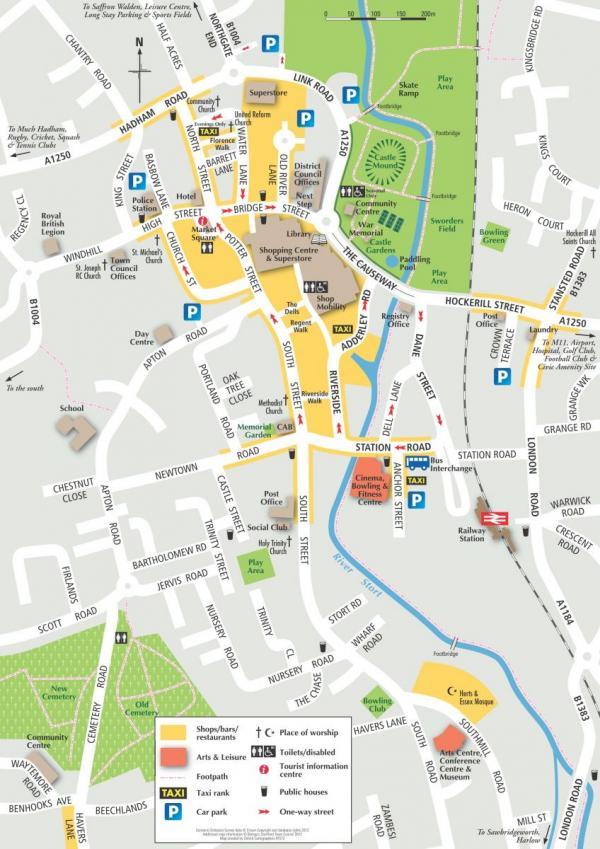Bishops Stortford Map Town Map | Bishop's Stortford Town Council and Tourist Information