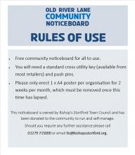Picture of the rules of use