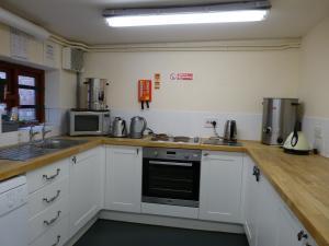 photo of markwell pavillion main hall kitchen